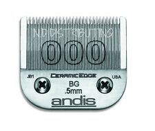 "Andis CeramicEdge # 000 Ceramic Clipper Blade # 64480 1/50"" 0.5mm (Size #000)"