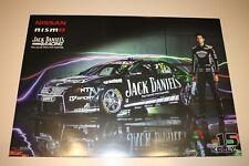 V8 Supercars Nissan nismo Jack Daniels Racing Rick Kelly Poster