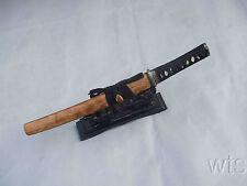 Handmade Rose Wood Japanese Folded Steel Sword Tanto