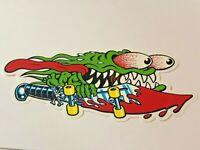"SANTA CRUZ Skateboard Sticker SLASHER SWORD 6"" Very Cool"