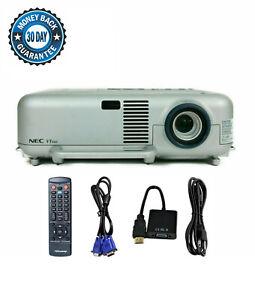 Refurbished NEC VT660 Tri-LCD Projector Portable HD 1080i HDMI-adapter Remote