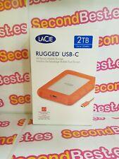 Disco duro portátil LaCie Rugged USB-C 2TB