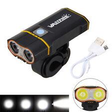 6000LM 2X XM-L2 LED USB Fahrradlampe Scheinwerfer Bike Light Headlight+2x18650