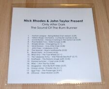 DURAN DURAN Nick Rhodes & John Taylor Present Only After Dark PROMO CD