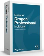 Nuance Dragon Professional Individual v15.0 Deutsch 2 PC 1 Benutzer Vollversion