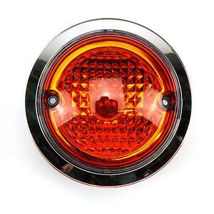 Hymer SL 700 Back Rear Indicator Lamp & Chromed Plastic Trim Ring Bezel Benz