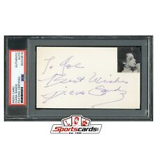 Diana Sands Actress Signed 3x5 Index Card PSA/DNA