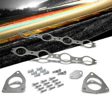 BFC Aluminum Graphite Exhaust Gasket For 01-03 Chevrolet Silverado 1500 HD 6.0L