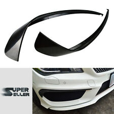 Painted BENZ CLA-Class C117 W117 Saloon Front Bumper Lip Flaps Spoiler Boot