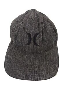 Hurley Grey Baseball Fitted Cap