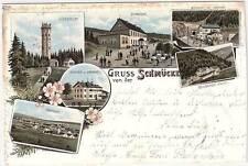 Lithographien aus Thüringen mit dem Thema Eisenbahn & Bahnhof