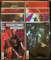 Deathstroke #30 32 33 34 35 36 37 38 - Batman - Mattina Variant Cover Lot NM+