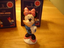 Royal Doulton 70th Anniversary Disney Minnie Mouse Entièrement neuf dans sa boîte Made in England