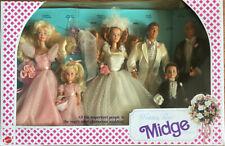 1990 Mattel Midge Wedding Party Gift Set Barbie Ken Midge Allen Kelly Todd NRFB