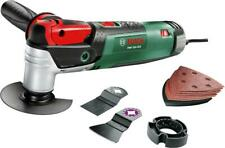 BOSCH PMF250 250W Multi-Tool Kit 230V Fai Da Te Attrezzo Multiuso Sander ha visto Cutter Trimmer