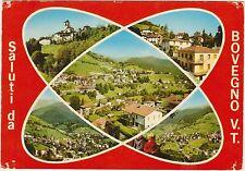 SALUTI DA BOVEGNO VALLE TROMPIA - VEDUTINE (BRESCIA) 1977