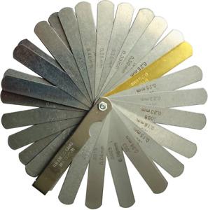 "Ultra Precision Feeler Gauge 32 Blades 0.0015""-0.035"", .04-.88mm"