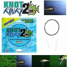Knot 2 Kinky Advanced Stretch Nikel Titanium Leader Wire 15Ft/4.6M