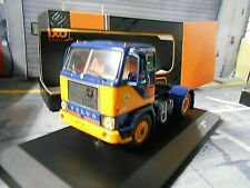 VOLVO F88 ASG 1971 blau gelb blue yellow Zugmaschine Truck LKW Camion IXO 1:43