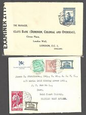 Portugal 1937-49 Two typed covers - 24252