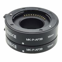 Meike P-AF3-B Auto Focus Automatic Macro Extension Tube(10mm,16mm) for Panasonic