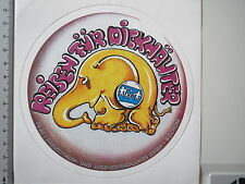 Adesivo sticker FEJO Bochum-viaggi per pachidermi (m1340)