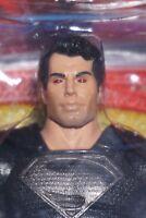 DC UNIVERSE SUPERMAN MAN OF STEEL BLACK SUIT MOVIE ACTION FIGURE MATTEL 2013