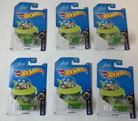 dealer's lot of 6 SEALED HOT WHEELS HW Screen Time cars ~ THE JETSONS