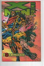 X-Men Prime One-Shot, WOLVERINE, chrome cover, 1995, 9.4 NM, marvel