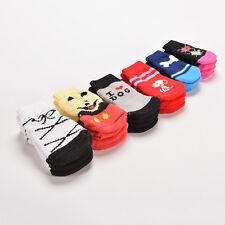 4pcs Winter Warm Soft Socks Cotton Anti-slip Cute Nice Knit Pet Dogs Cat Cute MW