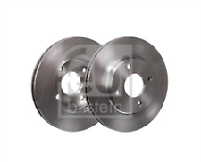 FOR FORD COURIER FIESTA FOCUS FUSION KA MAZDA 2 FRONT BRAKE DISC PAIR