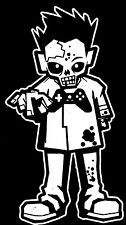 Zombie Boy Walking Dead Family Vinyl Decal Sticker