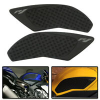 Gas Tank Side Pad Fuel Grip Decal Sticker Protector fit Yamaha YZF-R1 2015 2016