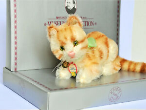STEIFF CHAT TABBY MUSEUM COLLECTION EDITION LIMITEE