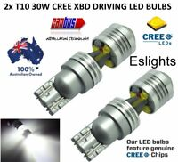 2X T10 W5W 12V 30W CREE LED HEADLIGHT DRIVING BULBS CANBUS INTERIOR LIGHT PARKER