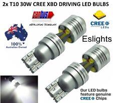 2X T10 W5W 12V 30W CREE LED HEADLIGHT DRIVING BULBS CANBUS INTERIOR LIGHT PARKER