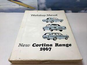 FORD CORTINA MK2 1300 1500 1500GT SALOON & ESTATE 1967 FACTORY WORKSHOP MANUAL