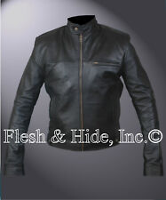 Slim Fit Classic Cafe Racer Jacket