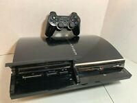 Original Backwards Compatible PS3 Console Bundle CECHE01 Compete Tested Clean
