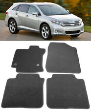 Black Trim Carpet Floor Mats Front Rear 4 Pcs Custom FIt For 09-16 Toyota Venza
