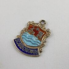 Fine Charms & Charm Bracelets Jewelry & Watches Scarborough Vintage Silver Enamel Travel Charm
