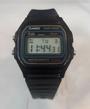 Cool vintage Casio W59 digital chronograph alarm water resistant quartz watch