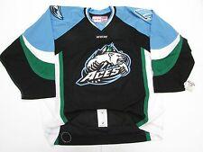 ALASKA ACES ECHL BLACK AUTHENTIC PRO CCM 6700 HOCKEY JERSEY SIZE 56