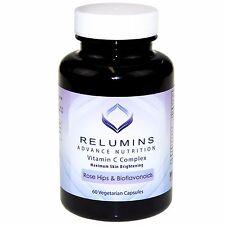 Relumins Advance Vitamin C MAX Skin Whitening w/RoseHips+Bioflavonoids - 60 Caps