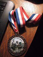 Orlando City Employee Medal - Florida USA 2001 Fitness Sports Challenge Ribbon