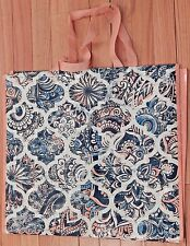 REUSABLE SHOPPING TRAVEL TOTE BAG BLPRNT ECO FRIENDLY TJMAXX NEW