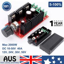 10-50v DC Motor Speed Switch Control PWM HHO RC Controller 12v 24v 48v 2000w