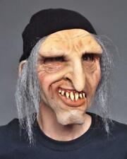 Old Man Mask Creepy Seaman Bum Hobo Hair Cap Big Nose Halloween Costume Ma1002