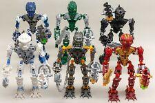 Lego Bionicle Toa Inika Full set Lot Of 6 Figures 8727 8728 8729 8730 8731 8732