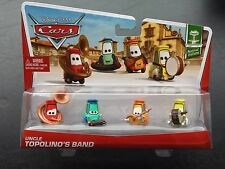DISNEY PIXAR CARS UNCLE TOPOLINOS BAND 2 PACK 2013 SAVE 5% WORLDWIDE FAST SHIP